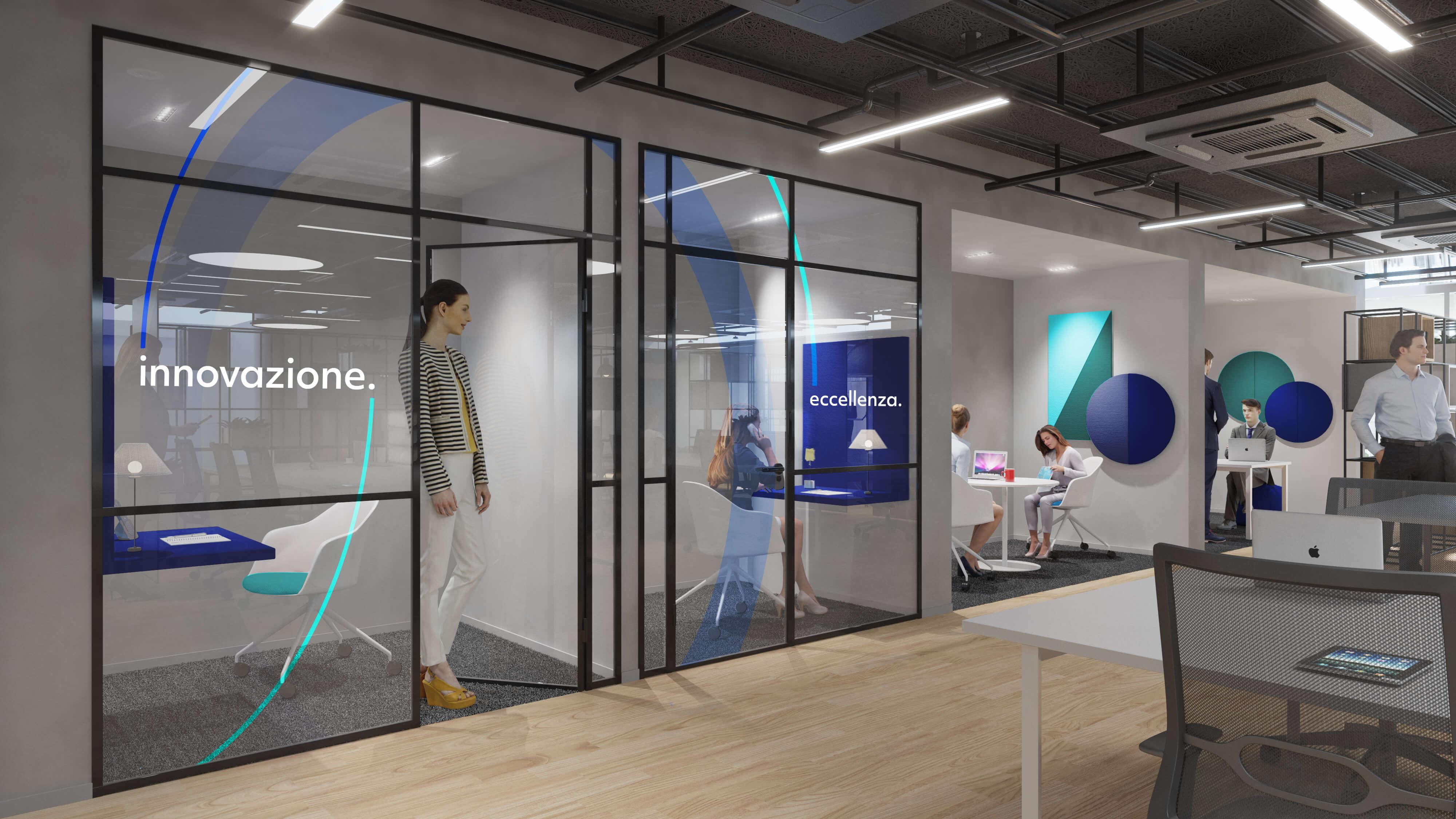 flessibilità e moderni spazi di lavoro